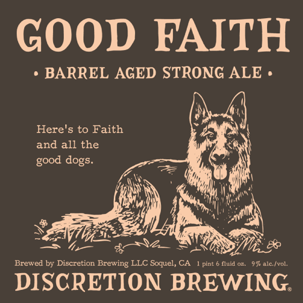 Good Faith Barrel Aged Strong Ale