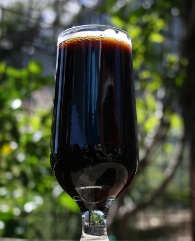 Oh Black Lager beer glass