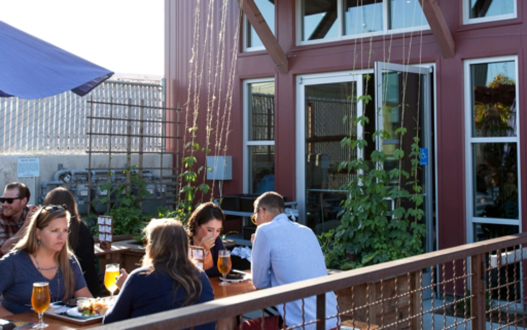 The Discretion Brewing Beer Garden